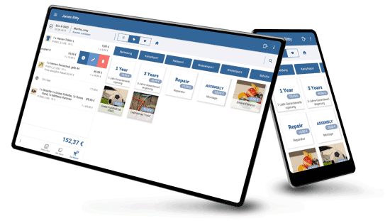 Sortimentsauswahl: Smartphone, Tablet - JTL-POS